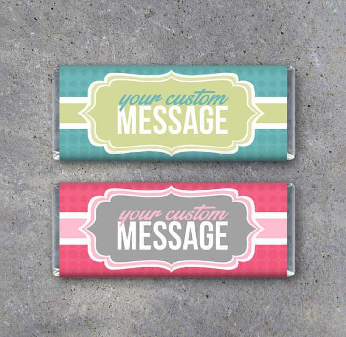 Personalized Candy Bar Wrapper Design Page 1