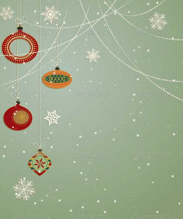 Premium Download Christmas Ornaments Ai Format Page 1