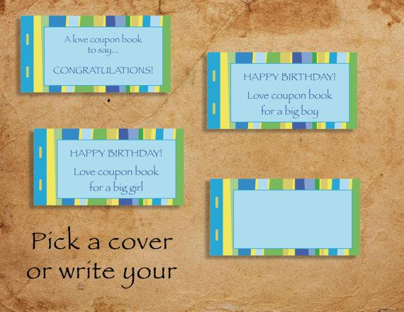 Printable Kids Lovecoupon Book Template Download Page 1