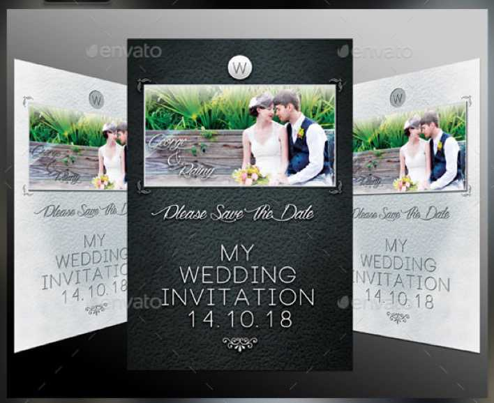 Printable Wedding Invitation Template For Download2 Page 1