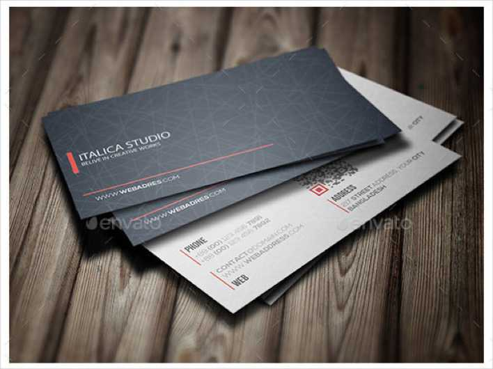 Professional Business Card Design PSD Download Page 1
