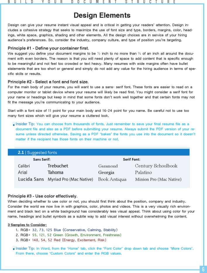 Download Professional Resume Writing Template Sample for Free | Page