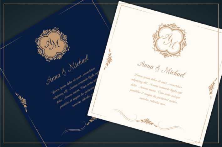Professional Wedding Invitation Template For Page 1