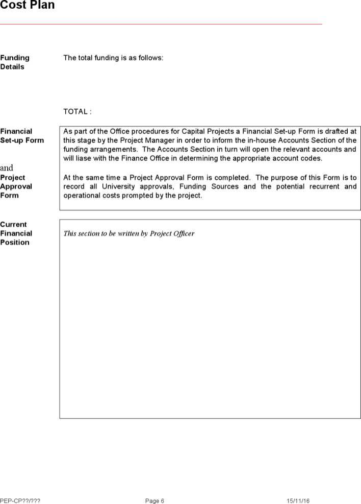 Download Project Execution Plan Template For Free Page 6