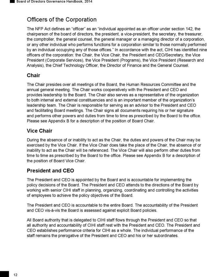Download Sample Board Of Directors Meeting Agenda To