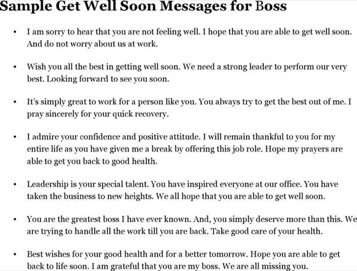 download sample get well soon messages for boss for free tidytemplates