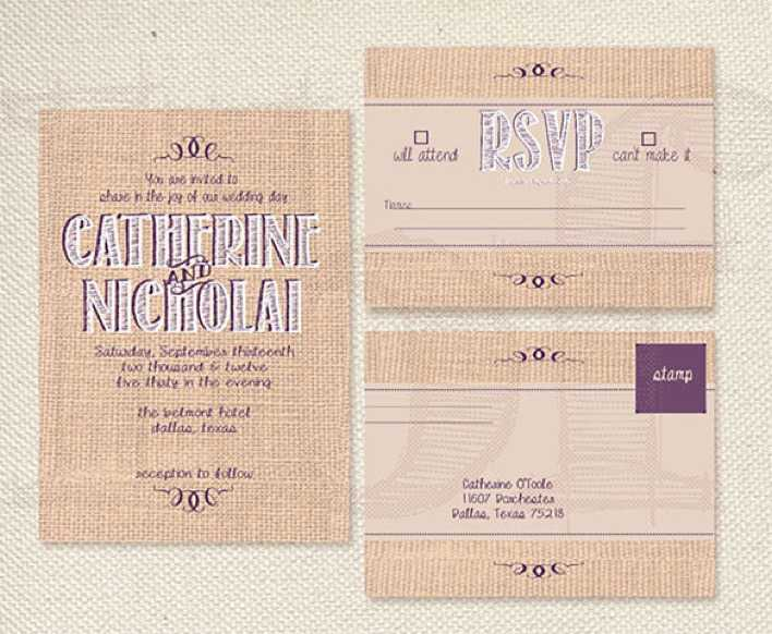 Download Sample Hobby Lobby Wedding Invitation Template Download For