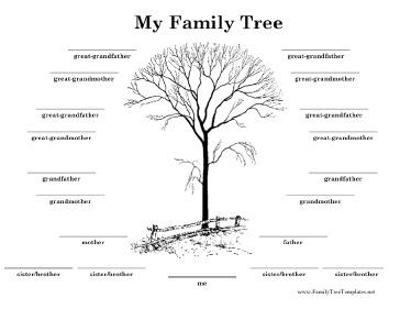 Simple Large Family Tree Free Download Page 1