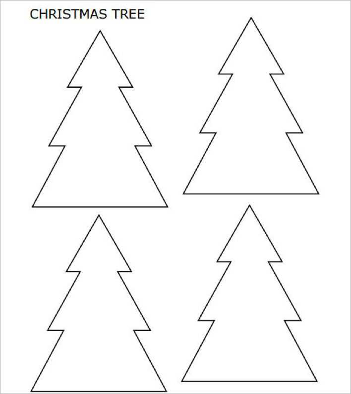 Small Christmas Tree with Pointed Corners Page 1