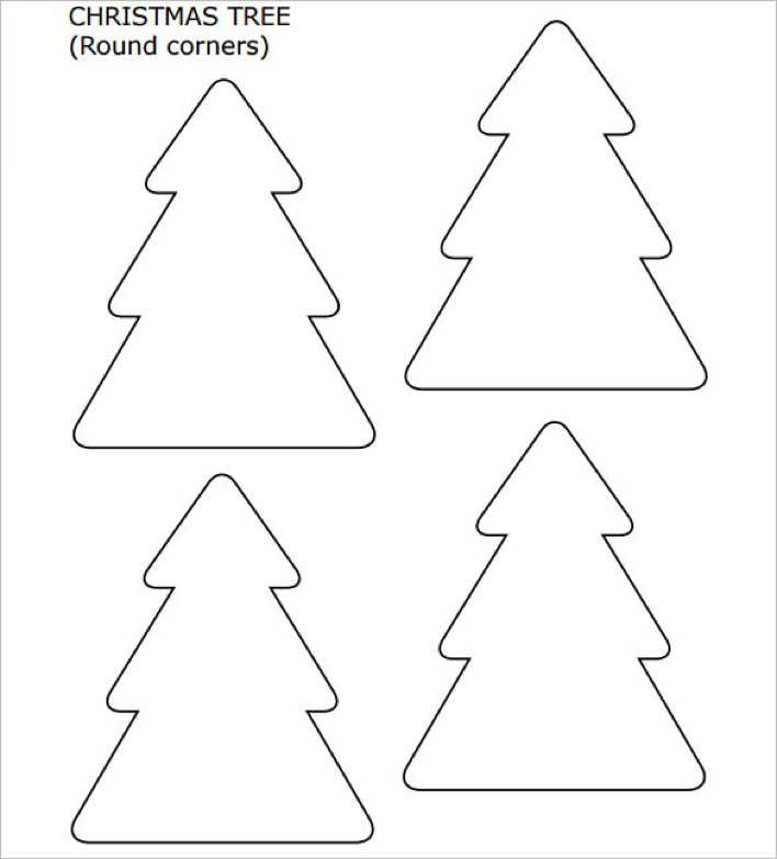 Small Christmas Tree with Round Corners Page 1