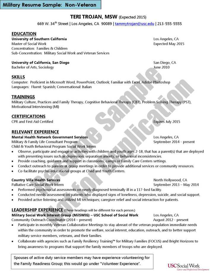 download social work resume template2 for free page 3 tidytemplates