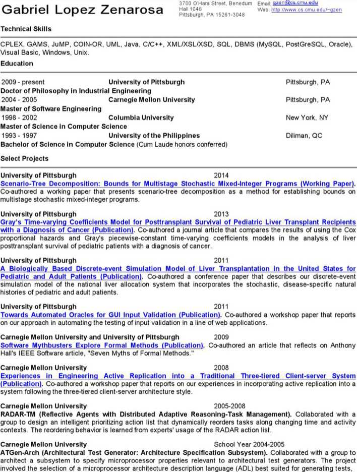 Download Software Programmer Engineer Resume for Free - TidyTemplates