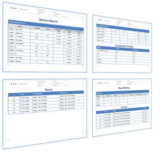 Download Software Testing Weekly Status Report Template Excel Format