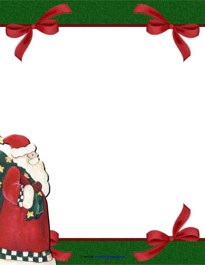 Stationery Template Papers fro Christmas PDF Download Page 1
