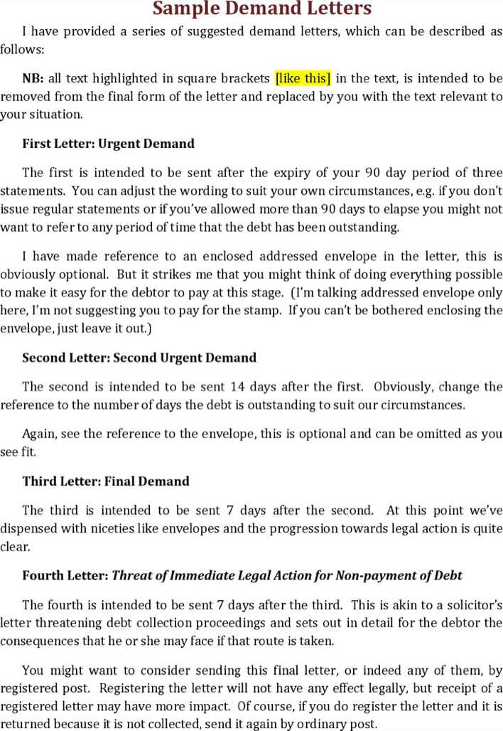 download strong payment reminder letter for free