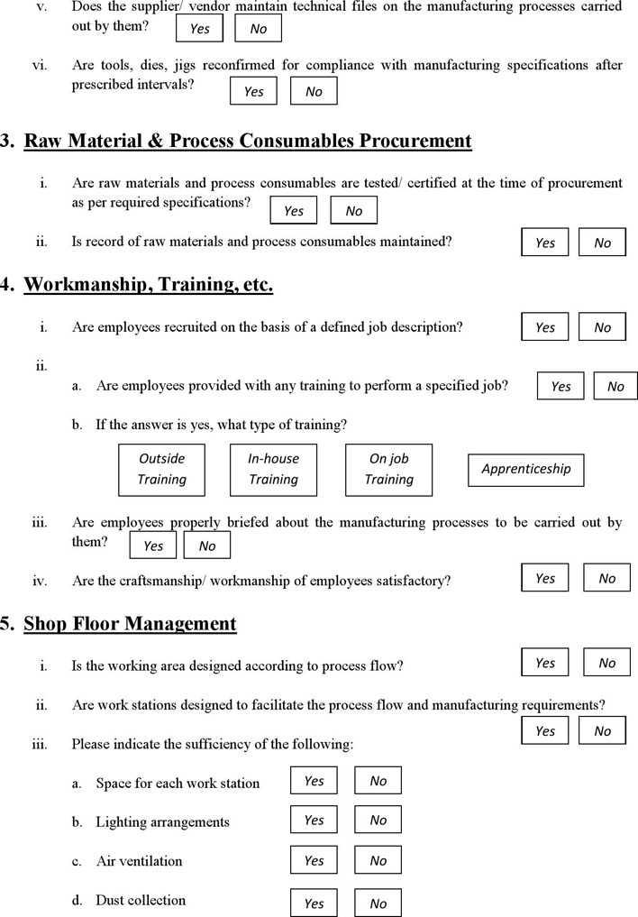 Vendor Evaluation Form   Download Supplier Vendor Evaluation Form For Free Page 2
