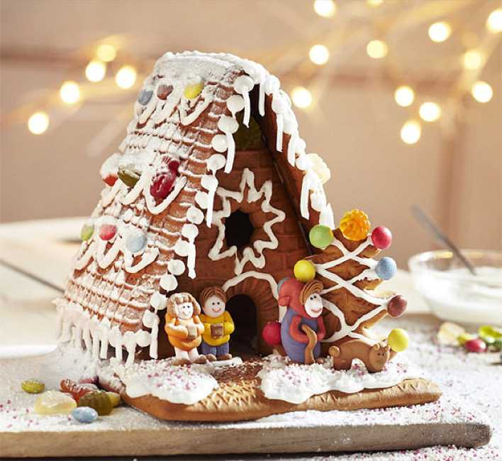 Traditional Gingerbread House kit Template Page 1
