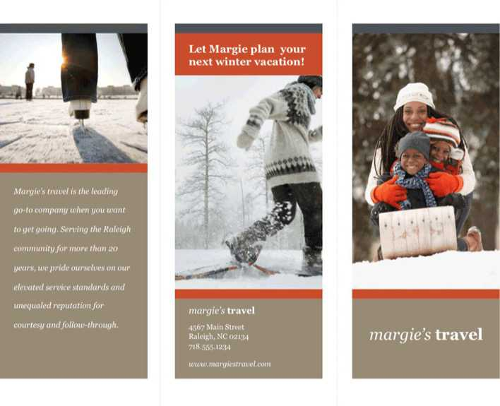 download tri fold travel brochure template 2 for free tidytemplates