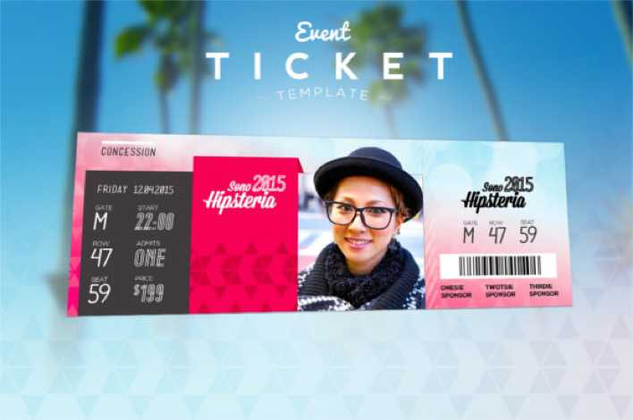 Value Friend Event Ticket Template Premium Download Page 1