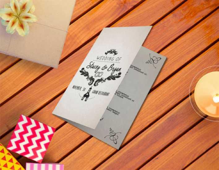 Vintage Wedding Program Template For Download Page 1