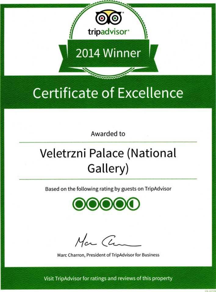 Winner Excellence Certificate Template Page 1