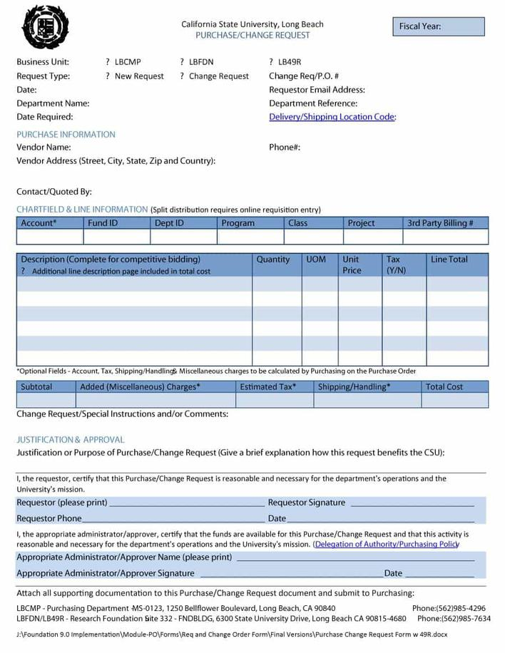 Download Work Order Request Form Excel Download for Free - TidyTemplates
