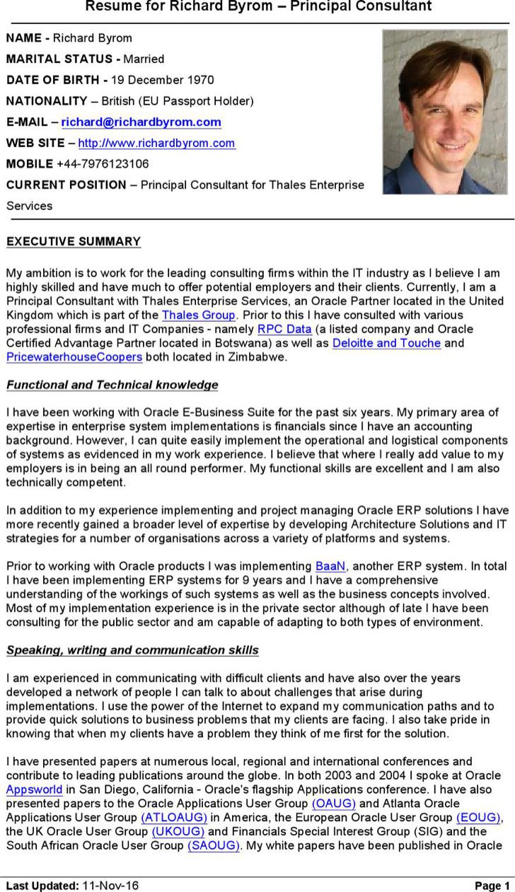 11I Applications Consultant