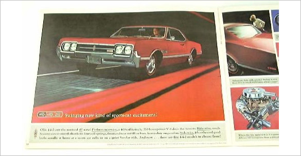 1966 Old Mobile Sports Brochure