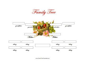 Download 3 Generations Family Genogram Template Word Download For
