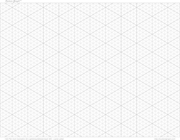 3D Graph Paper 1