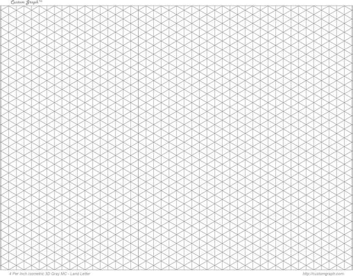 3D Graph Paper 2