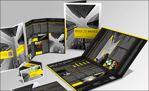 4 pages Brochure