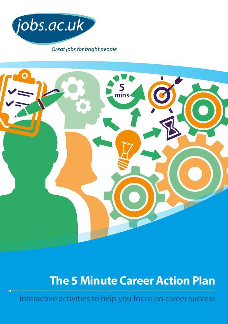 5 Minutes Career Action Plan PDF Download