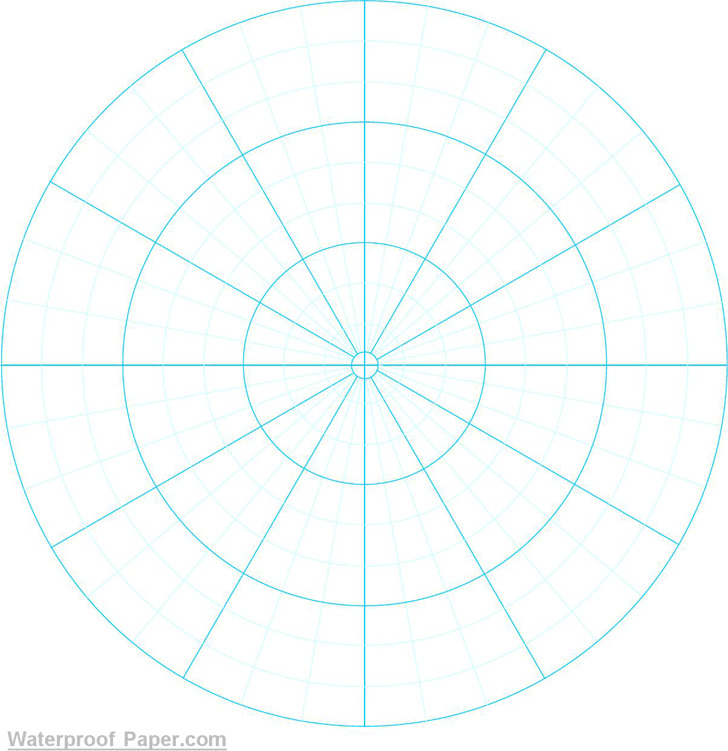 4+ Polar Graph Paper Free Download