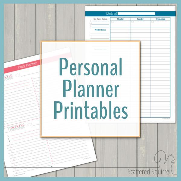 8 Designs Pocket Calendar Template