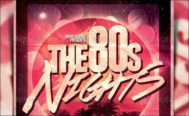 80s Flyer Vol 2