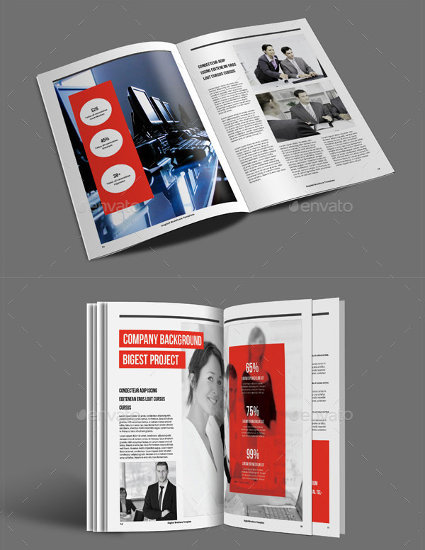 A5 Degital Brochure Template in Indesign