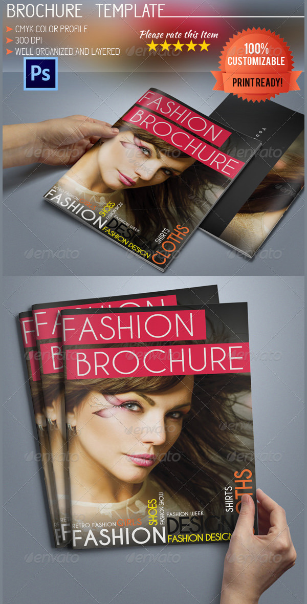 A5 Fashion Brochure
