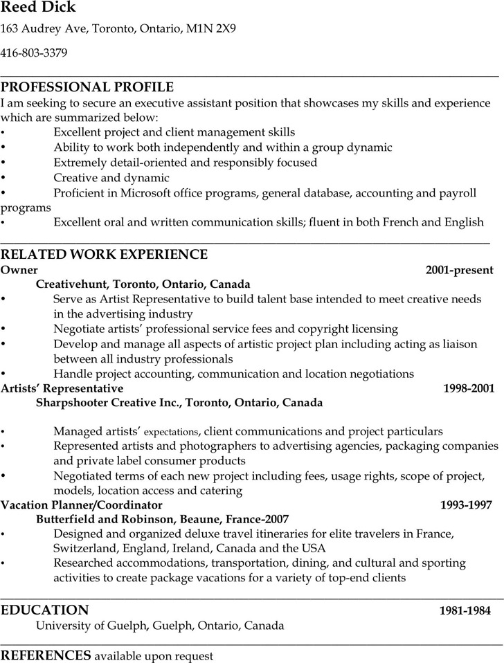 3 Administrative Assistant Resume Sample Free Download