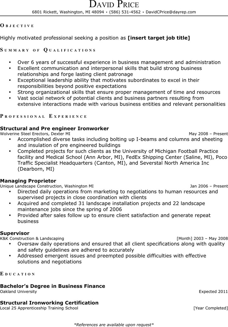 Administrative Assistant Resume Sample 3