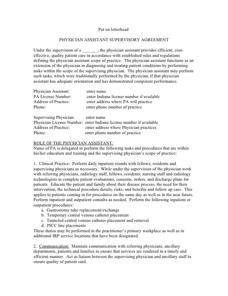 Agreement to Pay for Physician Service Template Download