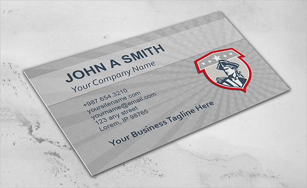 American Military Business Card