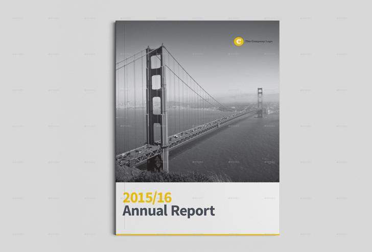 Annual Report Indesign Template