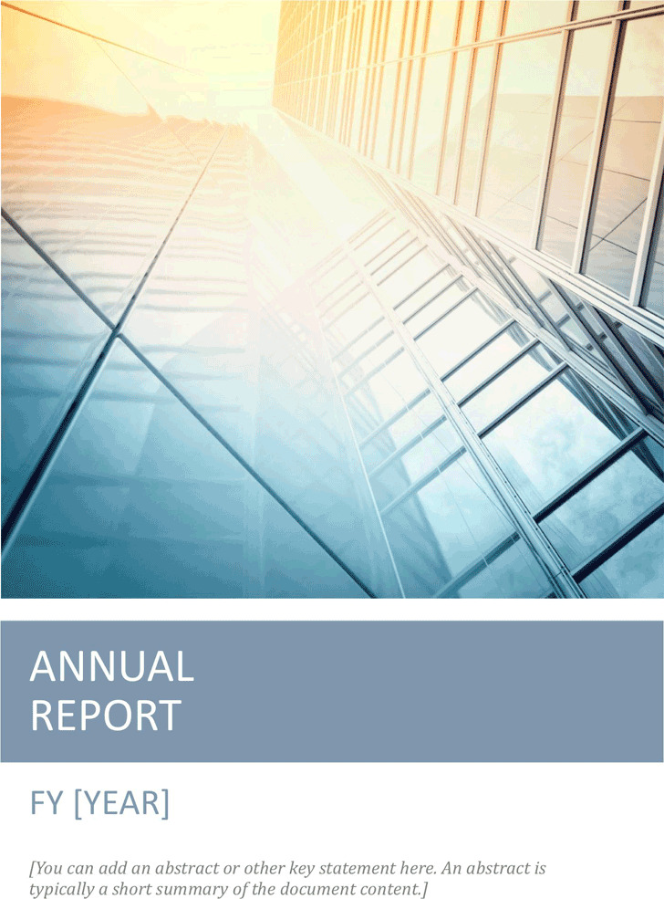 Annual Report Template 1