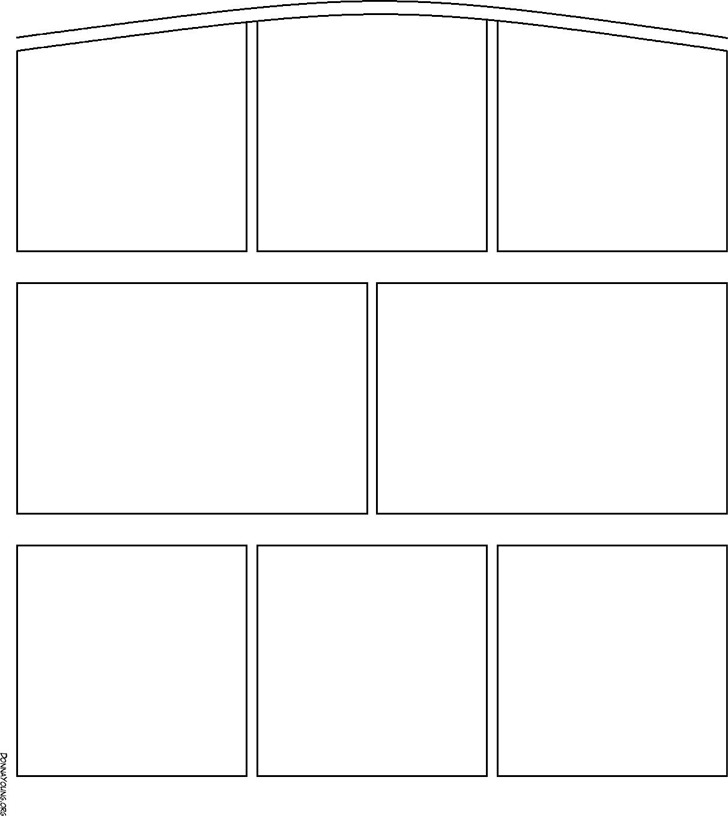 Arch Top - Comic Strip Templates - Comic Strip Arch-323