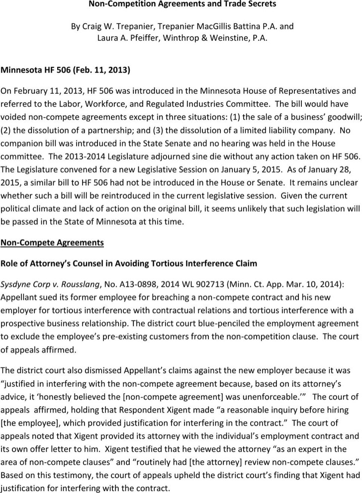 Download Sample Employee Non Compete Agreements For Free Tidytemplates