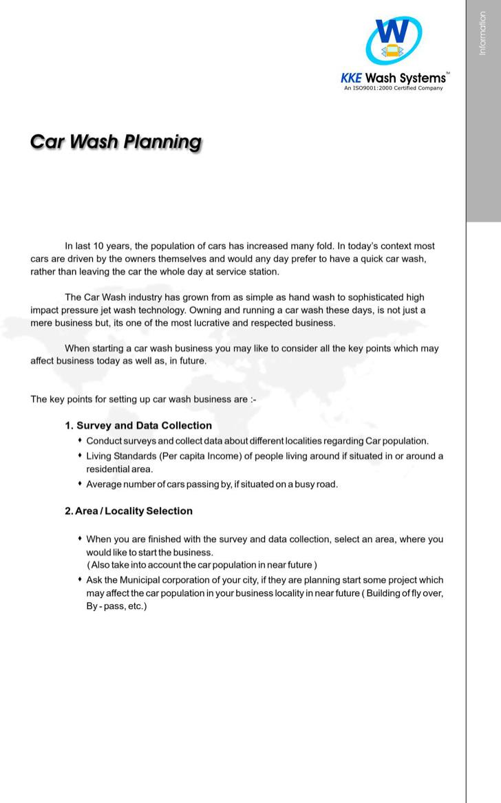 Automatic Car Wash Business Plan1
