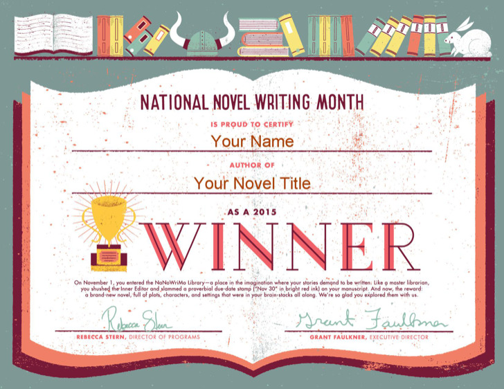 Award Winner Certificate Template