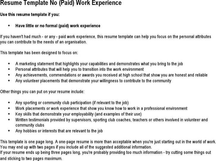 Babysitter No Experience Resume