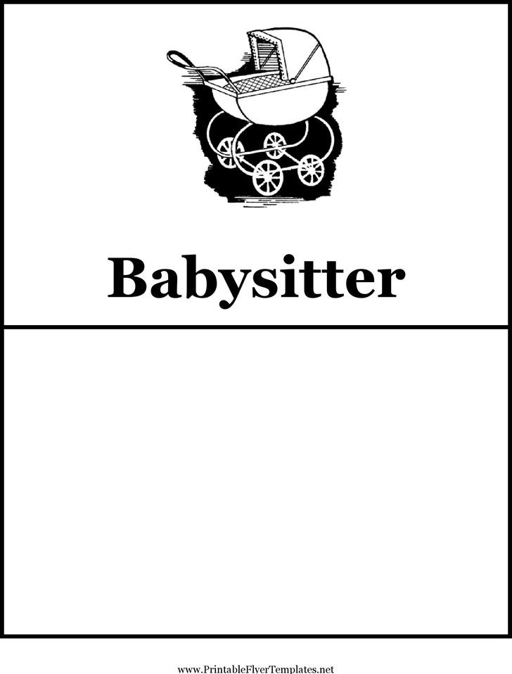 Babysitting Flyer 1